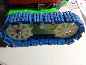 Robot Tank Track - Traction Upgrade