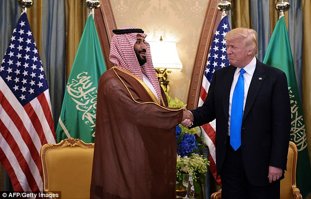 President Trump stayed at the Ritz Carlton when he visited Saudi Arabia in May, and it was where he met Prince Mohammed bin Salman, who was then deputy crown prince and is now crown prince - and the man behind the