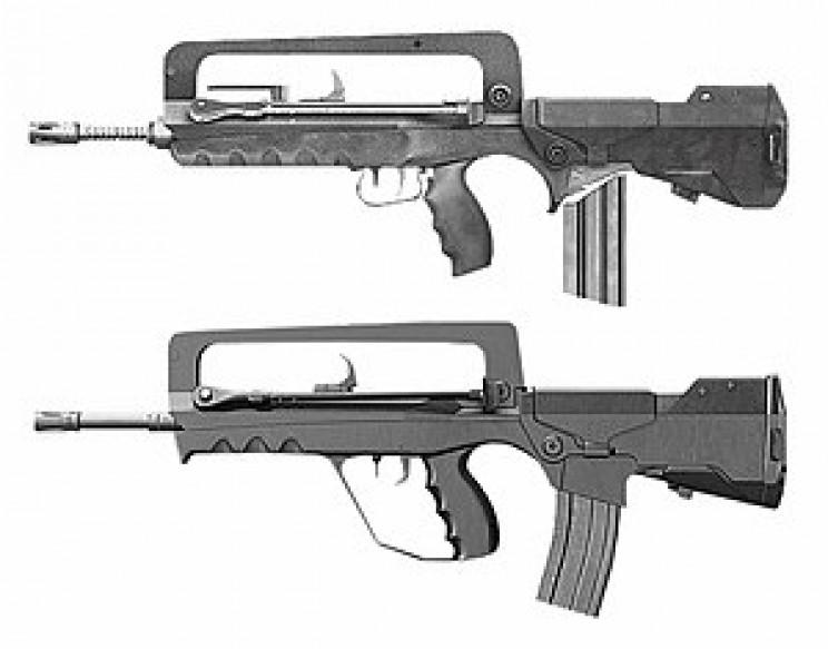 Best Military Rifles FAMAS