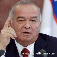 Islam Abdughanievich Karimov, President of Uzbekistan (re-elected on Mar 29, 2015 with 90.4% of the votes)