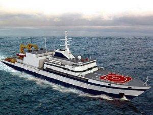 Новое спасательное судно для ВМФ спустили на воду