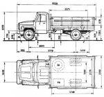 Фургон газ 3307 – Грузовик ГАЗ 3307 — полная характеристика автомобиля. Технические параметры, Габаритные размеры. Отзывы владельцев