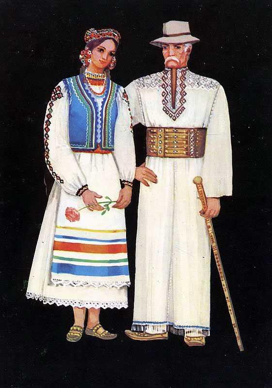09b38b8f72d622 Основу жіночого костюма становила довга вишиванка — «Довгань». Характерною  особливістю Довгань є «пазуха» — прикраса у вигляді зітканого квадрата з  червоних ...