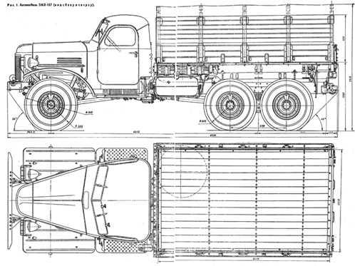 зил 157 технические характеристики, устройство, расход топлива